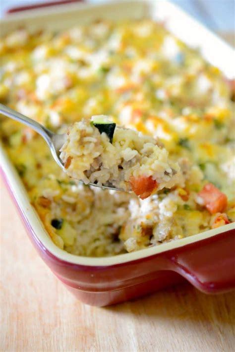 sausage zucchini rice casserole carrie s experimental