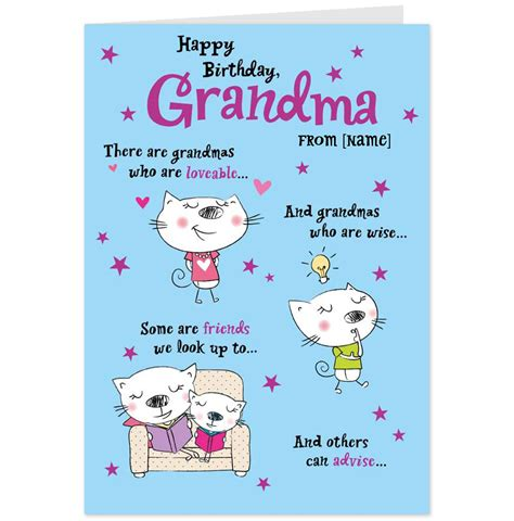 Grandmother Birthday Card Sayings Funny Birthday Quotes For Grandma Quotesgram