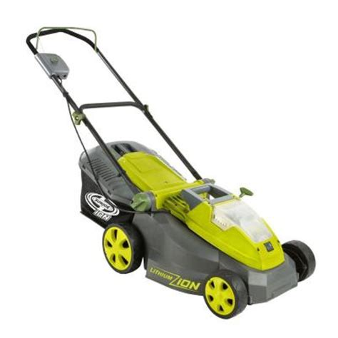 sun joe ion16lm 16 in 40 volt cordless electric lawn