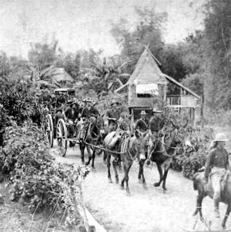 the philippine american war 18991902 18991913 scott s battery on the way to san isidro may 1899