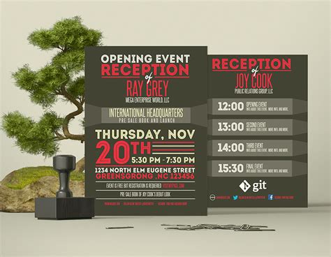 event program design templates event program template psd flyer brochure graphicfy