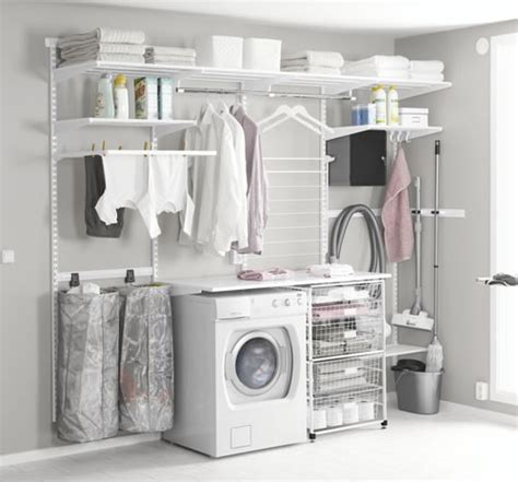 Laundry Room Storage Systems Store Elfa Utility Room Best Selling Solution 2