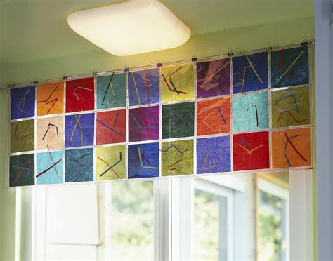 kitchen window valances ideas valances for windows in classroom preschool classroom