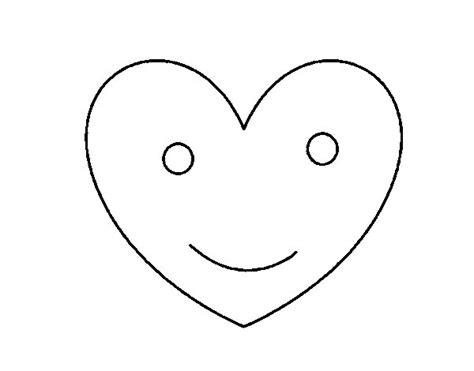 imagenes para dibujar un corazon dibujo de coraz 243 n contento para colorear dibujos net