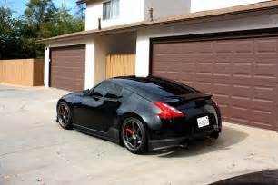 black nissan 370z auto keirning cars