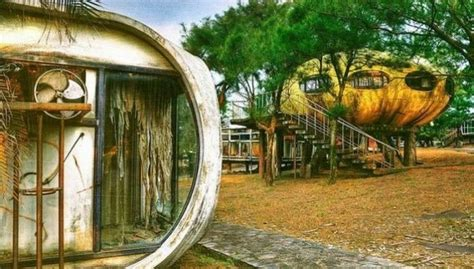 ufo house abandoned ufo houses in taiwan voices of east anglia