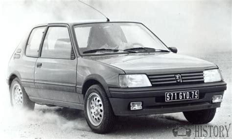 peugeot car history peugeot peugeot 205 1983 1999 motor car history