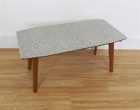 formica coffee table retro vintage mid century atomic 50s