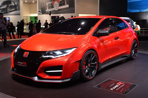 honda civic type r orange 03 honda civic type r concept geneva 1 drag international