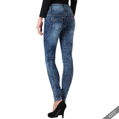 light wash skinny jeans womens womens high waist faded light wash skinny slim fit denim