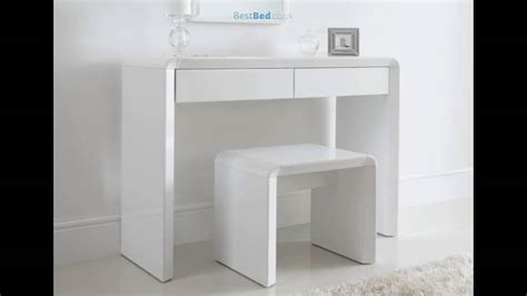 malm toilettafel fabulous ice high gloss dressing table only white with