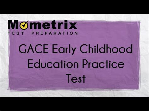Early Childhood Education Questions Free Gace Early Childhood Education 501 Practice