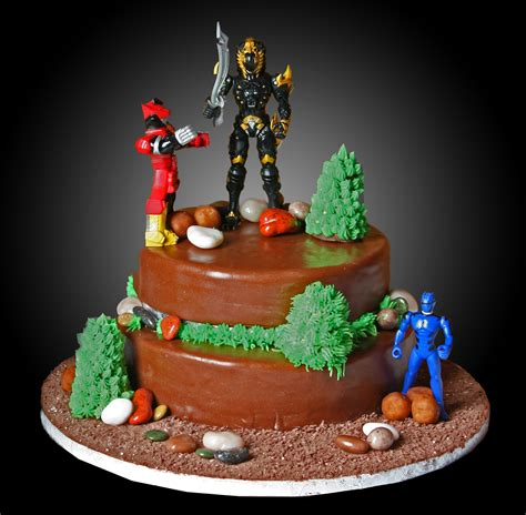 birthday cake power ranger cakes decoration ideas little birthday cakes