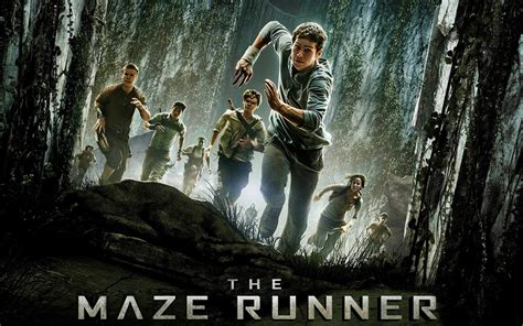 the maze runner film video dystopian blogs of a bookaholic
