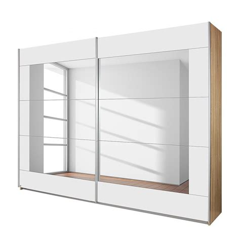 rauch sliding door wardrobe alpha white 270 modern wardrobes