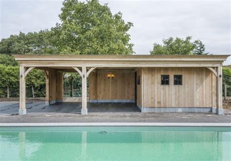 skeletbouw tuinhuis landelijke bijgebouwen poolhouses tuinhuizen of garages