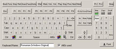 keyboard layout la romanian keyboard layout microsoft windows