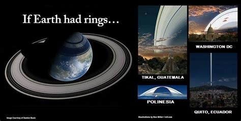 if the earth had rings like saturn here s what earth might look like with a ring system