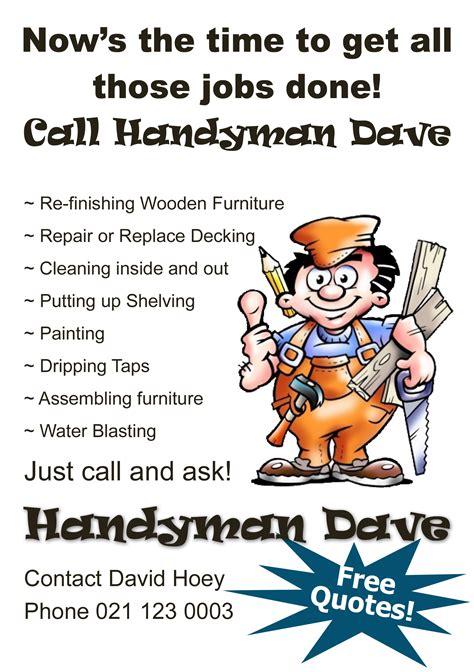 Handyman Quotes And Sayings Quotesgram Handyman Advertising Templates