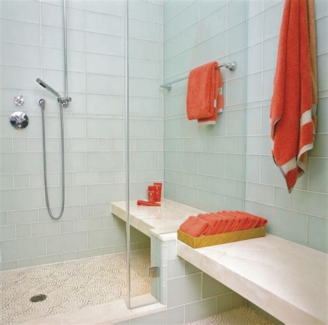glass tile in bathroom using glass to showoff your gorgeous bathroom