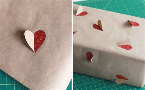 Tutorial Bungkus Kado Kotak | tutorial membungkus kado simple bentuk hati romantis