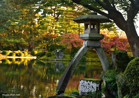 simply beautiful japanese scenes kenroku en autumn landscape
