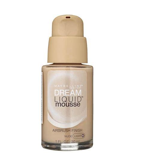 Maybelline Liquid Mousse Foundation Maybelline Liquid Mousse Light Foundation 4 30