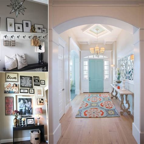 chic ways  decorate  entryway wall