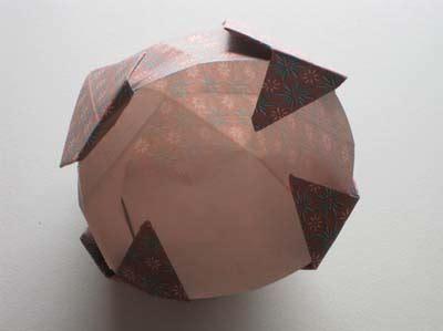 Easy Origami Vase - easy origami vase folding how to make an