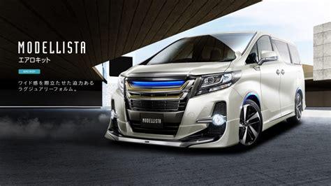 Harga Kit Mobil by 2016 Toyota Alphard Vellfire Get Modellista Kits