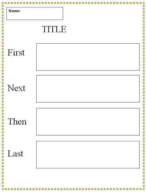 template of graphic organizer graphic organizer template next then last