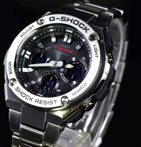 Jam Tangan G Shock Gst 200 Black casio g shock gst w110d 1ajf water resistant 200m