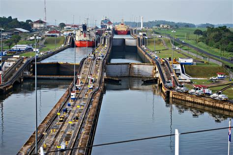 Photo Panama Canal by Zuiderdam Postcards From The Panama Canal