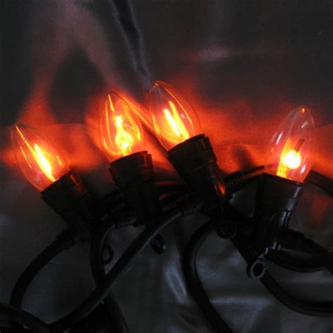 10 Flicker Bulb Stringlights Flickering String Lights