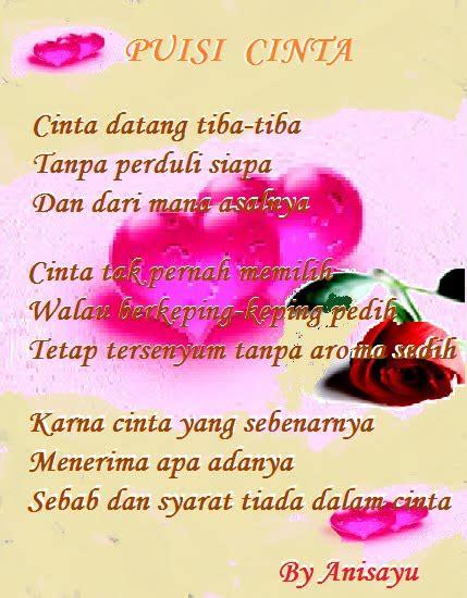 puisi cinta kumpulan puisi cinta sms puisi cinta the knownledge