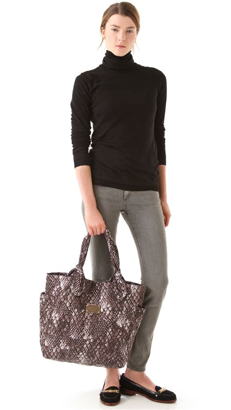 Marc By Marc Tate Embroidered Shopper by Marc By Marc Pretty Print Medium Tate