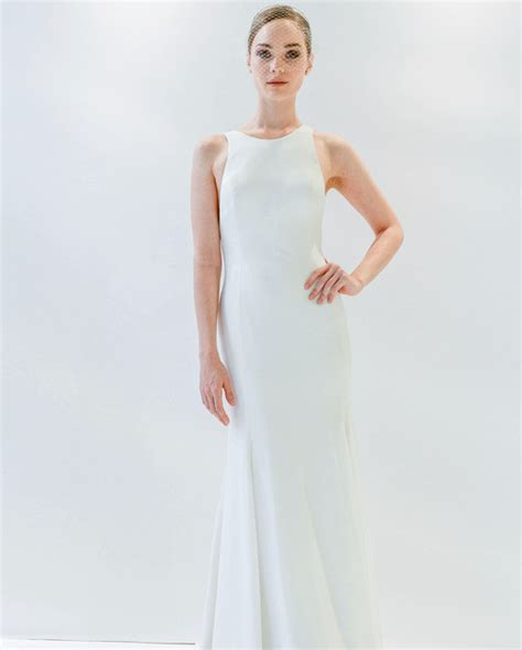 Plain Wedding Dresses by Simple Wedding Dresses That Are Just Plain Chic Martha