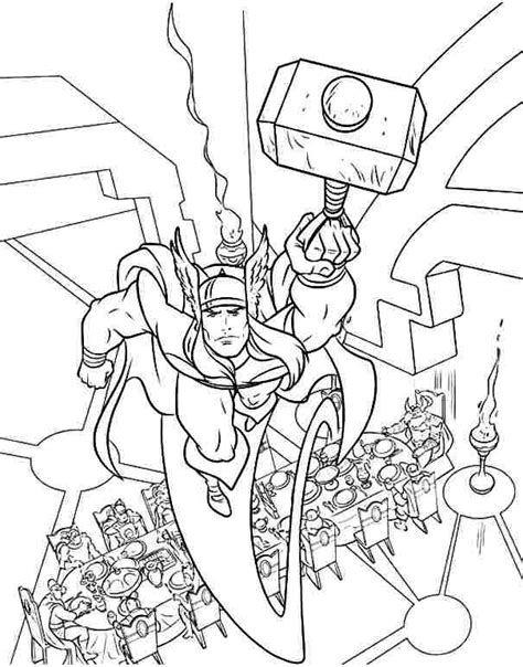 thunder cake coloring page 20 besten superheroes coloring pages bilder auf pinterest
