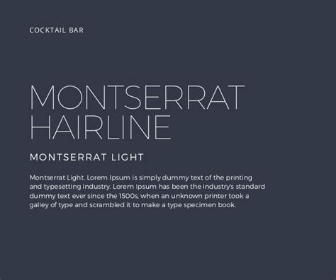canva font download montserrat hairline montserrat light lorem