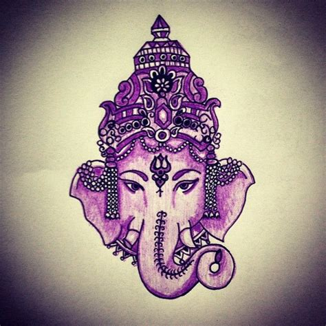 pink ganesha tattoo 17 best images about ganesh tattoos on pinterest green