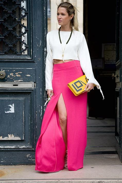 how to wear crop top with maxi skirt 2018 fashiongum