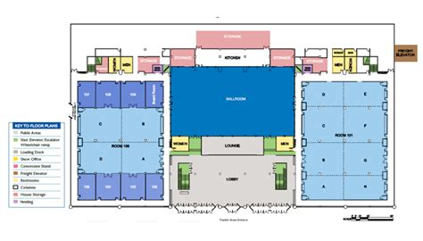 civic center floor plan floor plans gt about us gt buffalo niagara convention center