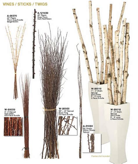 stick bundles for home decor artificial branches
