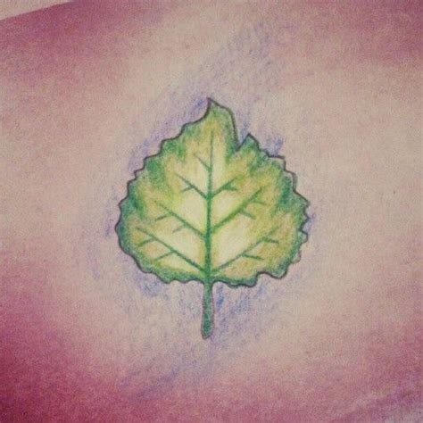 aspen tree tattoo designs 17 best images about aspen leaf tattoos on