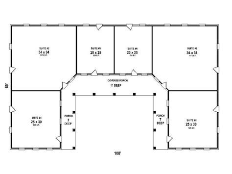 strip mall floor plans plan 006c 0047 find unique house plans home plans and