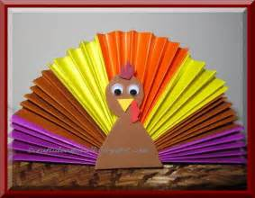 paper fan turkey munchkins and