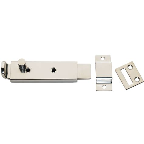 spring loaded and latch whitecap spring loaded slide bolt latch 316 stainless