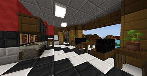 minecraft kitchen 1st view minecraft pinterest first modern house in ftb minecraft project