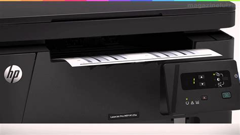 Lu Led Hp multifuncional hp laserjet pro mfp m125a laser display led