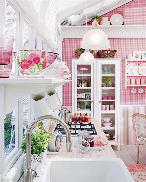pink kitchen ideas cute pink kitchen design ideas and inspirations